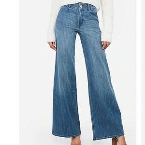 X2 Express Wide Leg Dark Wash Jeans Size 12